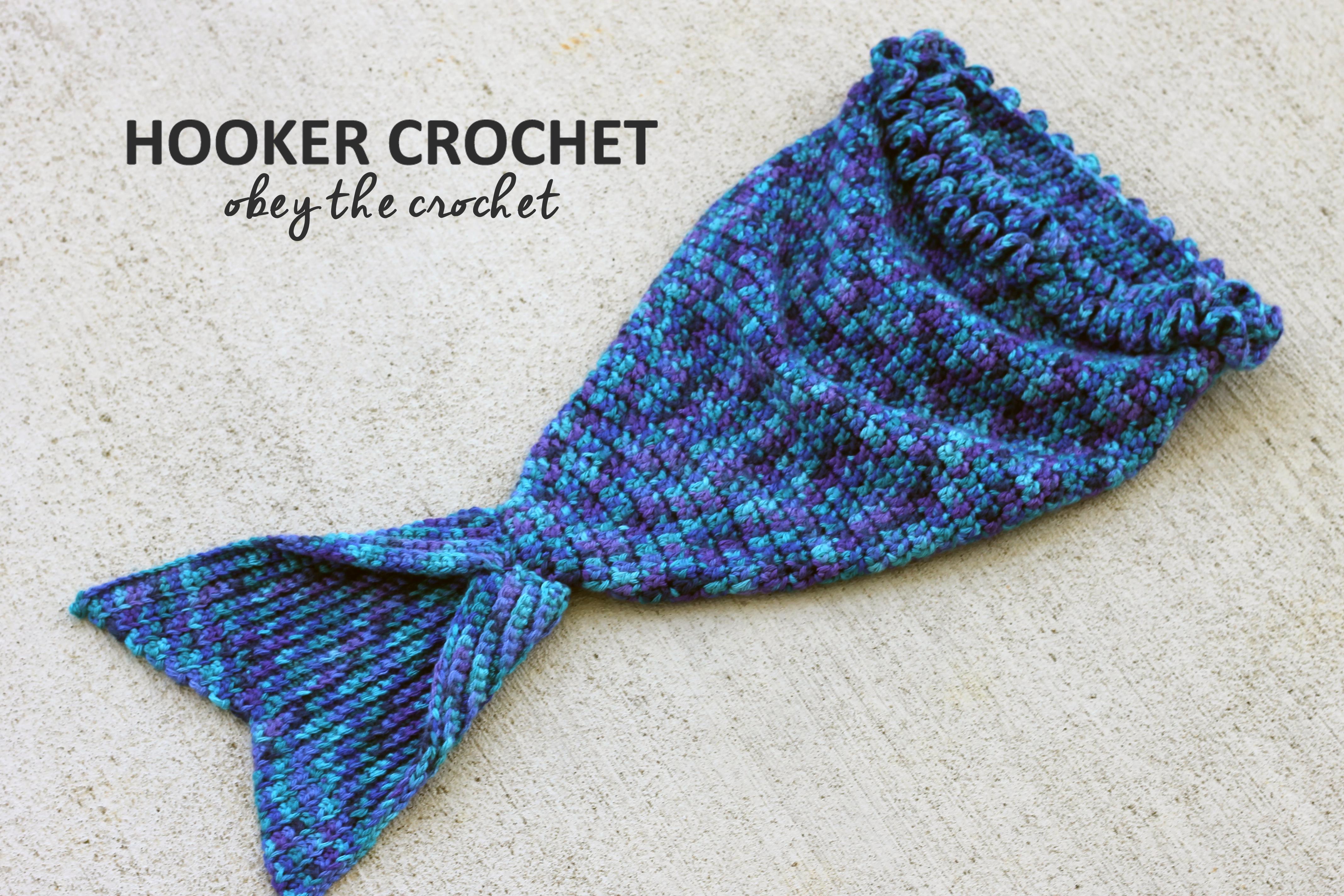 Mystic Mermaid Cocoon – Free Crochet Pattern in Post | Hooker Crochet