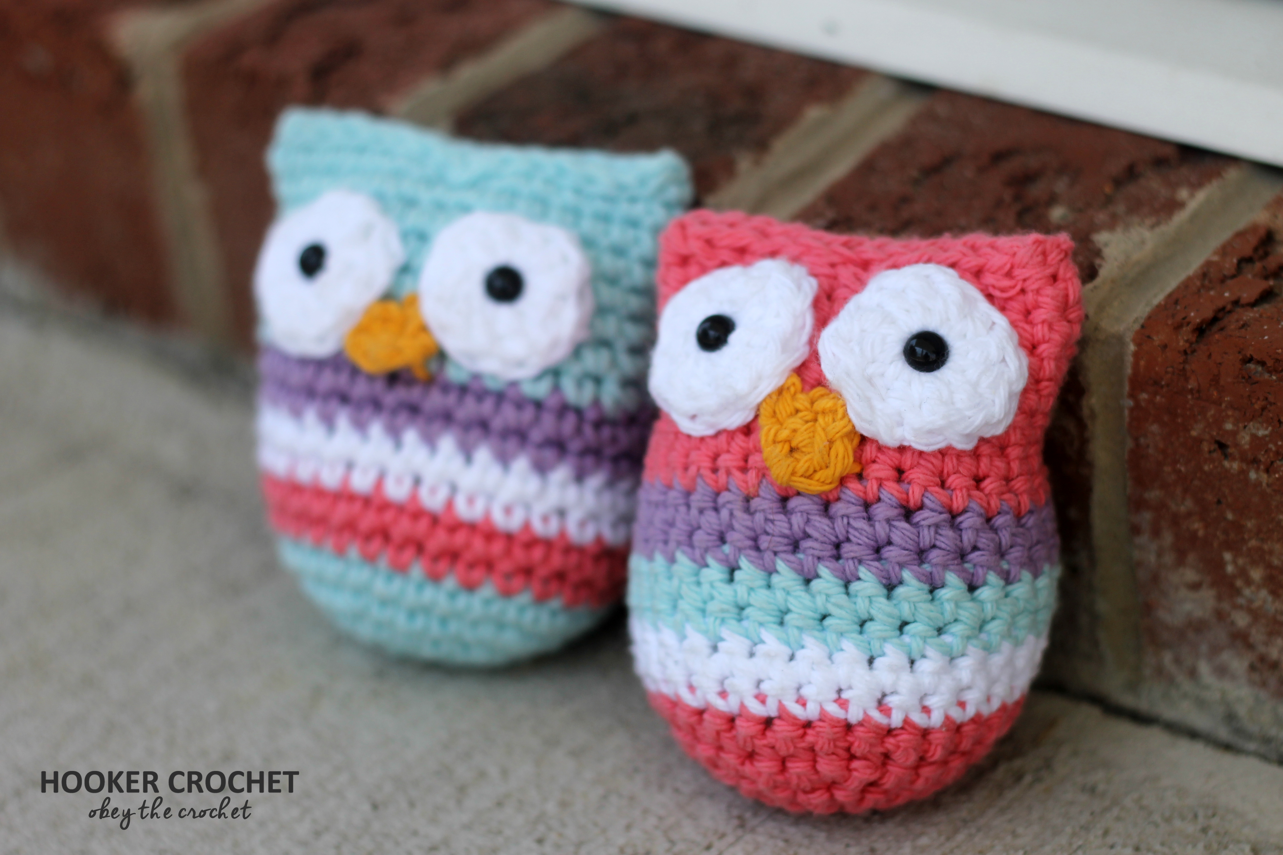 Two Tiny Owls – Free Crochet Pattern in Post | Hooker Crochet