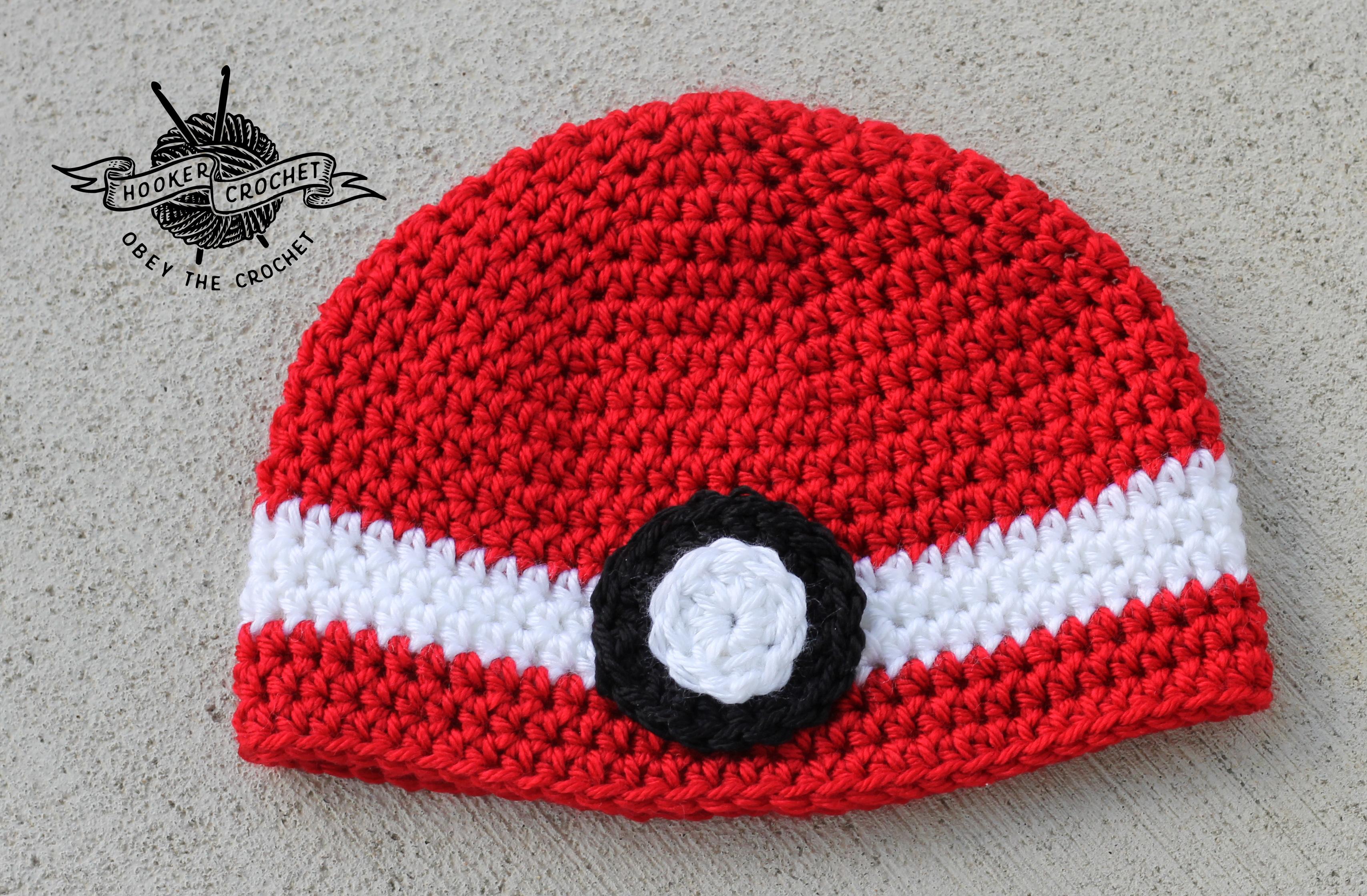 Pokeball Hooker Crochet