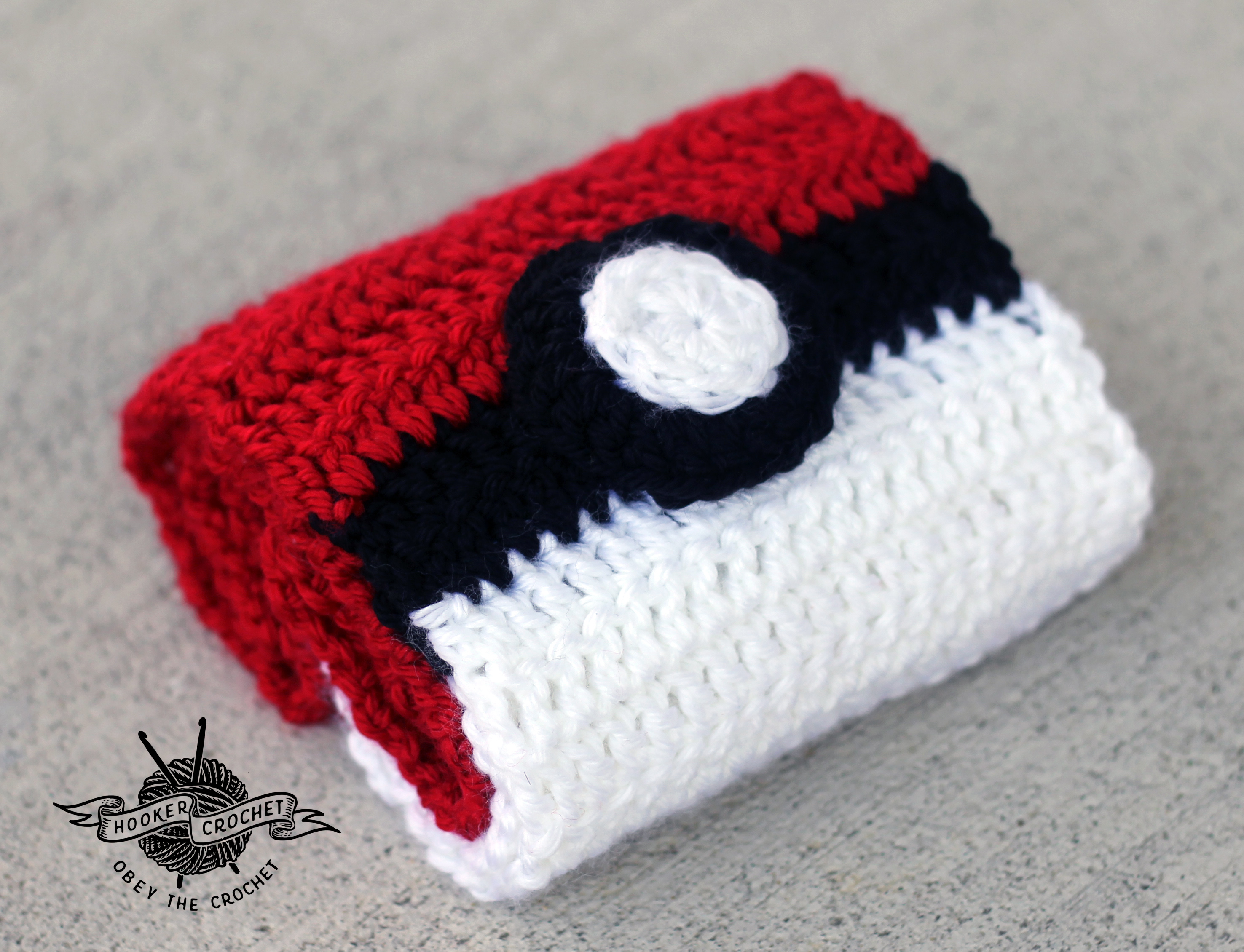Crochet Patterns Pokemon : Pokemon Scarf - Free Crochet Pattern Hooker Crochet